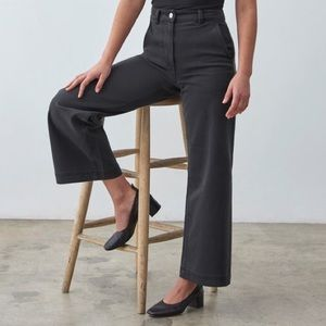 EVERLANE Wide-Leg Cropped Pant